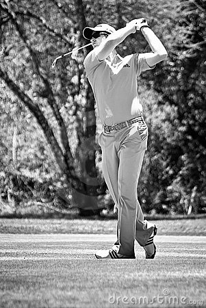 Justin Rose - Iron Shot - NGC2010 Editorial Photo
