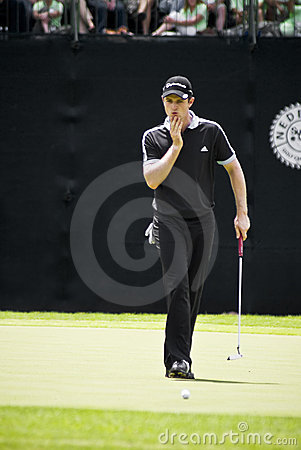 Justin Rose Editorial Stock Image