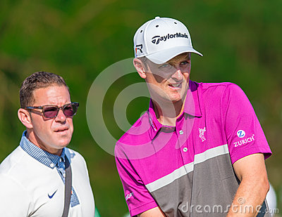 Justin Rose at the 2013 US Open Editorial Stock Image