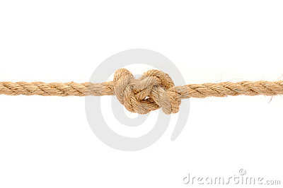 Jute Rope with Knot