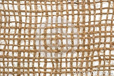 Jute sacking net
