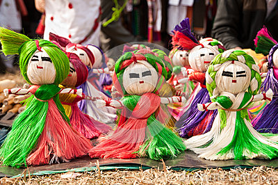 Jute toy puppets