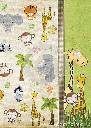 Juvenile Jungle Animals