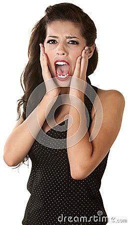 Juventud femenina de griterío
