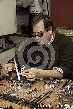 Juwelier Redaktionelles Stockfotografie