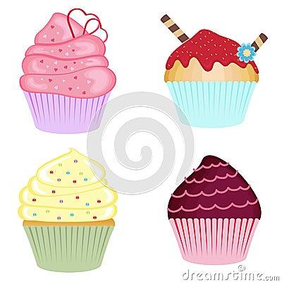 Köstliche kleine Kuchen