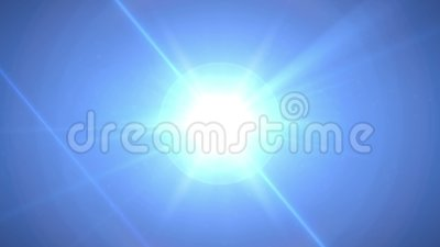 4K移动从由中心决定的透镜火光代表焕发星作用 动画背景和行动图表 股票视频