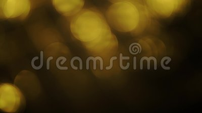 4k, δυναμικός θερμός από τα φω'τα εστίασης, bokeh αφηρημένο δημιουργικό υπόβαθρο φιλμ μικρού μήκους