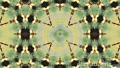 4K Arabesque mandala Oude meetkunde Magische cirkels Explosie Zonsopgang Caleidoscoop Optische illusies stock footage
