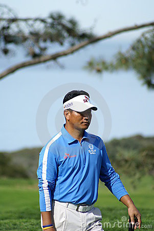 K. J. Choi Golfer 2011 Farmers Insurance Open Editorial Photo
