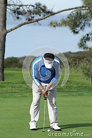 K. J. Choi Golfer 2011 Farmers Insurance Open Editorial Stock Image