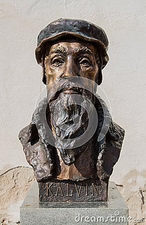 Free Kálvin János Statue Stock Image - 38683201