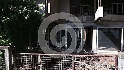 4K powierzchowność brudny zaniechany dom zbiory