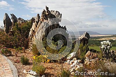 φυσικός βράχος κήπων χαρα&ka