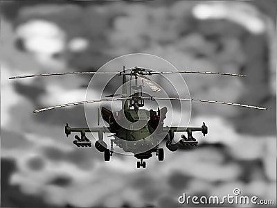 KA-50 Helicopter