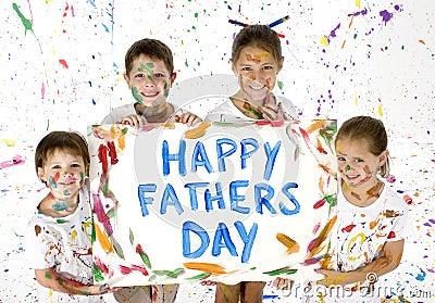 Kaart voor de Dag van Vaders