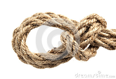 Kabel met knoop