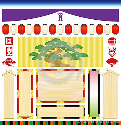 Kabuki; Japanese traditional drama.