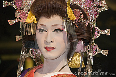 Kabuki performer Editorial Stock Photo