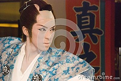 Kabuki performer Editorial Photography