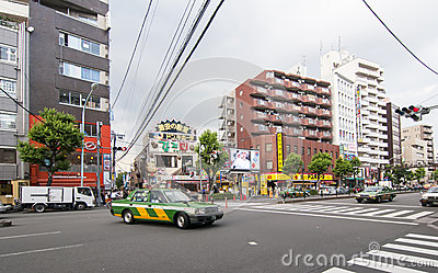 Kabukicho district in Tokyo,Japan Editorial Stock Image