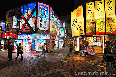 Kabukicho in Tokyo, Japan Editorial Photo