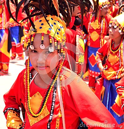 Kadayawan Festival, Davao City Editorial Stock Photo