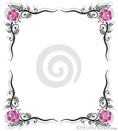 Kader rozen wijnoogst royalty vrije stock foto 39 s afbeelding 34776798 - Wijnoogst ...