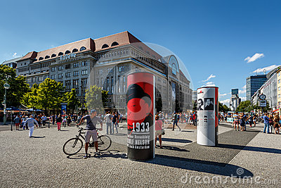 KaDeWe Shopping Mall in Berlin, Germany Editorial Photography