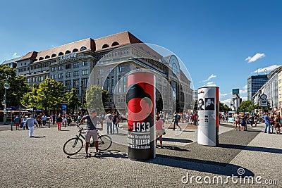 KaDeWe Shopping Mall in Berlin, Germany Editorial Photography
