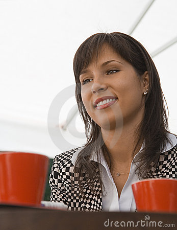 Kaffe henne möte