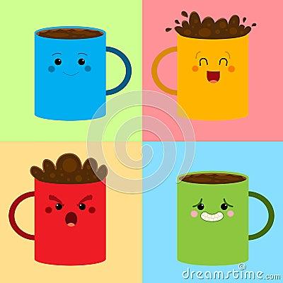 Kaffe mönstrar