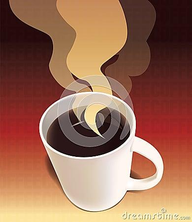 Kaffee-Plakat