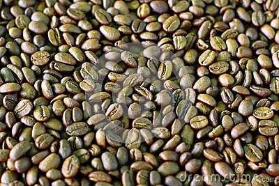 Kaffeebohnemuster