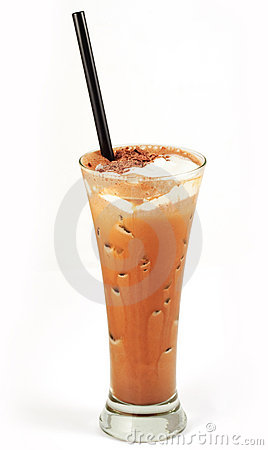 Kaffeecocktail im Glas #7