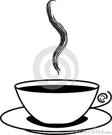 kaffeetasse mit dampf stockfoto bild 20694780. Black Bedroom Furniture Sets. Home Design Ideas