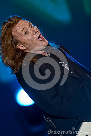 Kai Hansen (Unisonic) Editorial Stock Photo