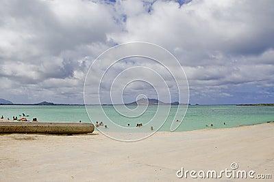 Kailua Beach Editorial Photography