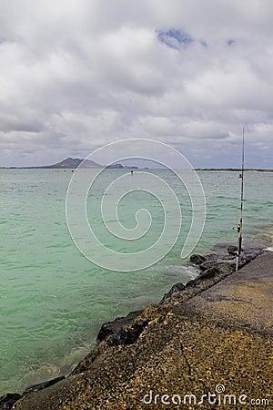 Kailua Shore Editorial Photo