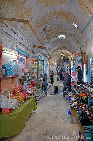 Free Kairouan Bazaar Stock Images - 24261254