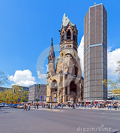 Kaiser Wilhelm Memorial in Kurfurstendamm