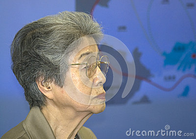 Kajimoto Yoshiko nuclear bomb survivor Editorial Image