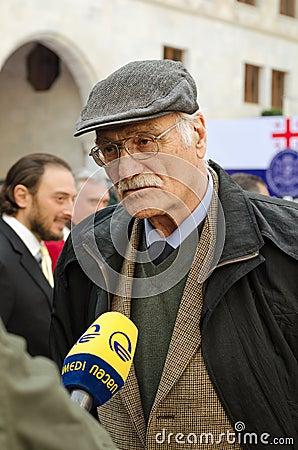 Kakhi Kavsadze Editorial Photo