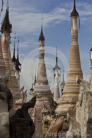 Kakku Temples, Myanmar Editorial Photography