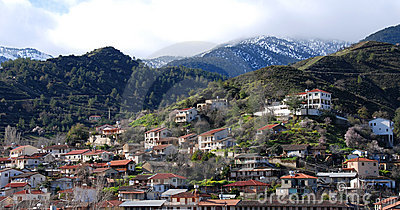 Kakopetria mountain Village  Troodos Cyprus
