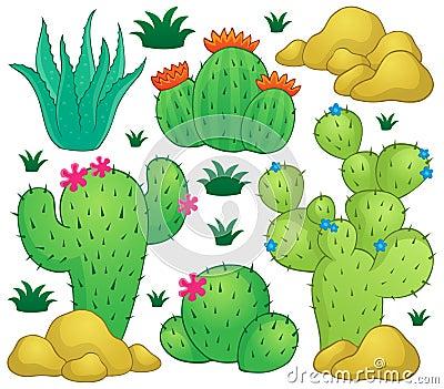 Kaktusowy tematu wizerunek 1