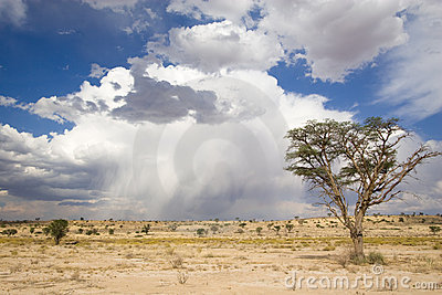 Kalahari clouds