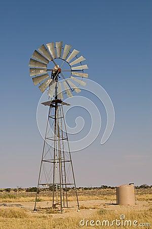 Kalahari windmill