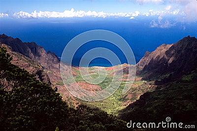 Kalalau Valley in Hawaii