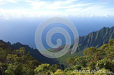 Kalalau Valley Na Pali Coast Kauai Hawaii